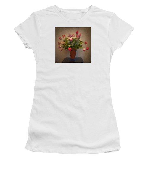 Dutch Flowers Blooming Women's T-Shirt (Junior Cut)