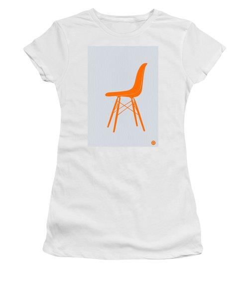 Eames Fiberglass Chair Orange Women's T-Shirt