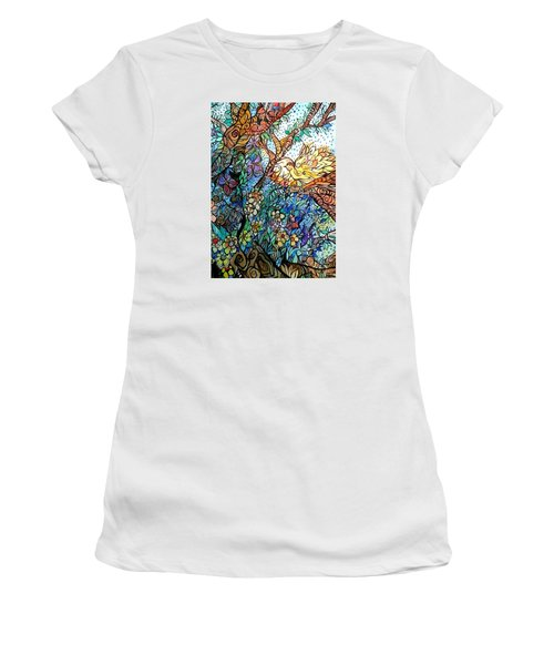 Early Fall Women's T-Shirt (Athletic Fit)