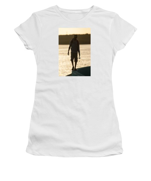 Early Morning Fishing Women's T-Shirt
