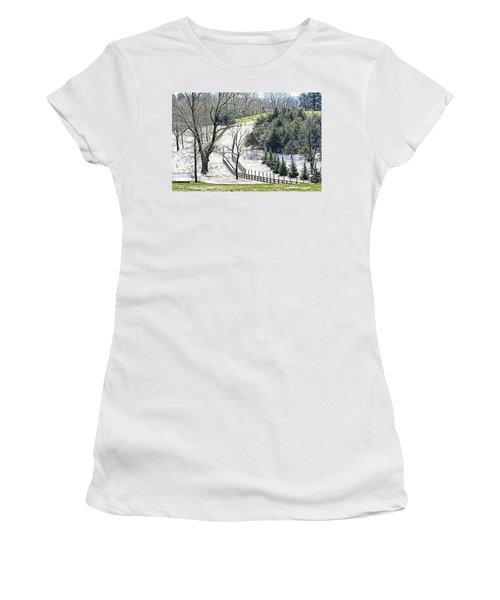 Early Winter Pasture Women's T-Shirt