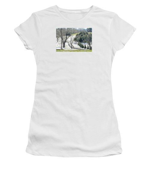 Early Winter Pasture Women's T-Shirt