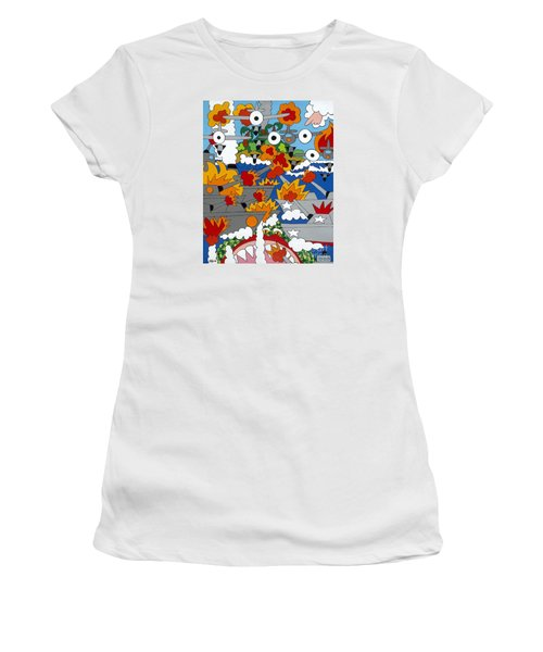 East Meets West Women's T-Shirt