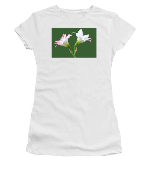 Easter Lilies Women's T-Shirt (Athletic Fit)