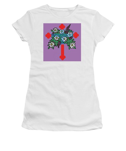 Eastern Ornate Women's T-Shirt (Athletic Fit)