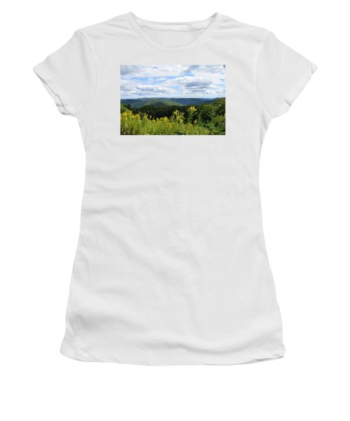 Eastern Summit 1 Women's T-Shirt (Athletic Fit)