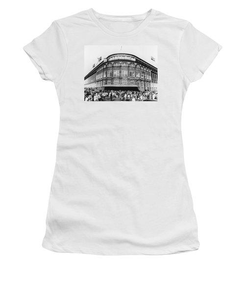 Ebbets Field, Brooklyn, Nyc Women's T-Shirt
