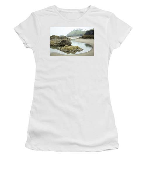 Ecola Tidepool Women's T-Shirt (Athletic Fit)