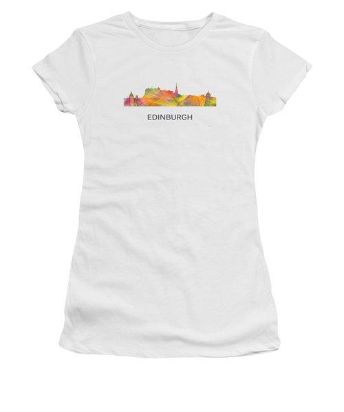 Edinburgh Scotland Skyline Women's T-Shirt