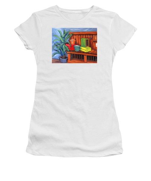 Edwards Nursery Potting Bench Women's T-Shirt