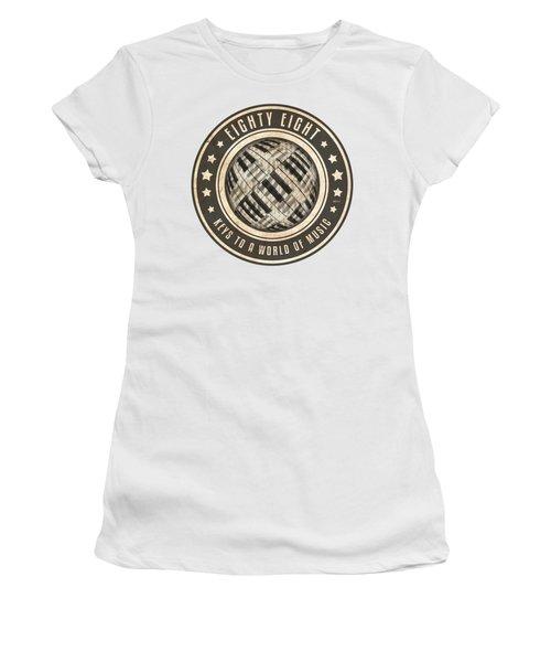 Eighty Eight Keys Women's T-Shirt (Junior Cut) by Phil Perkins