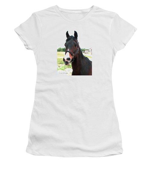 El Ameer Women's T-Shirt (Junior Cut) by Joan Hartenstein