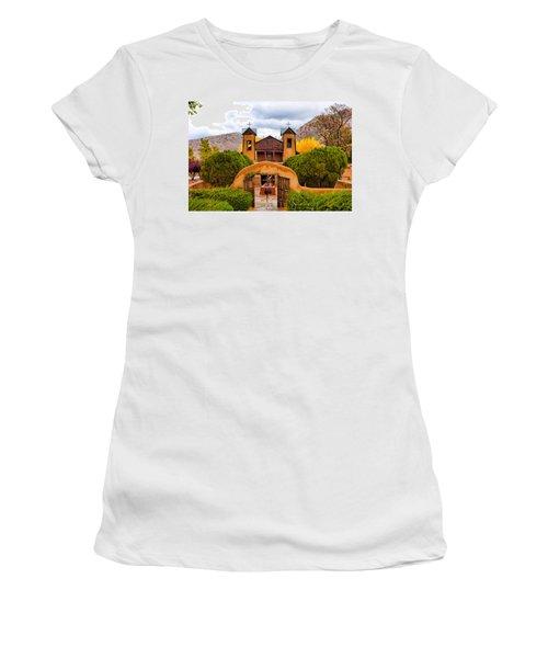 El Santuario De Chimayo Study 4 Women's T-Shirt (Athletic Fit)