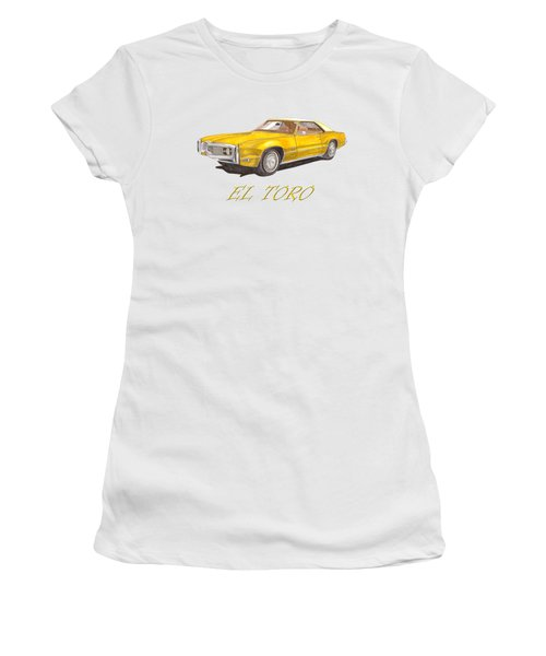 1970 Toronado El Toro Toronado Women's T-Shirt (Athletic Fit)