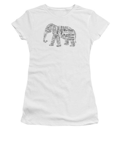 Elefont Noir Women's T-Shirt
