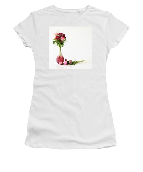 Women's T-Shirt (Athletic Fit) featuring the photograph Elegance by Wendy Wilton