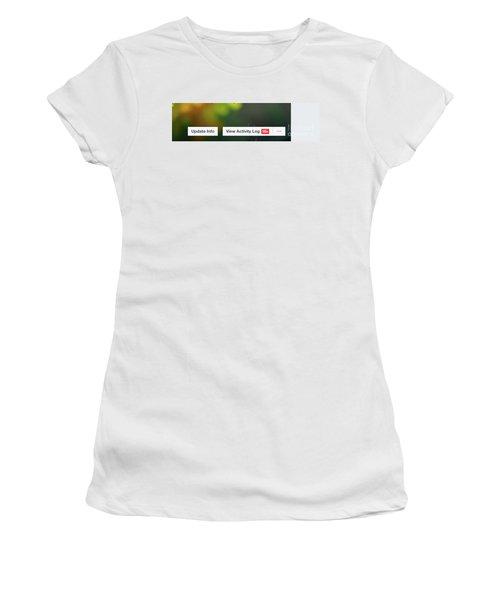 Elipses Women's T-Shirt (Junior Cut) by Lois Bryan