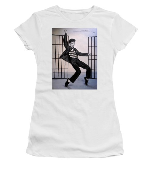 Elvis Presley Jailhouse Rock Women's T-Shirt