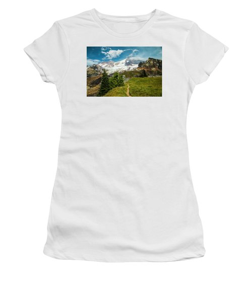Emerald View Women's T-Shirt (Athletic Fit)