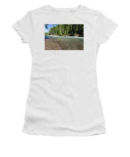 Emerald Waters Flow Women's T-Shirt