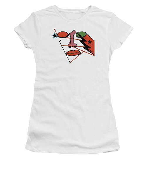 Women's T-Shirt (Junior Cut) featuring the digital art Emerge 2 by Christine Perry