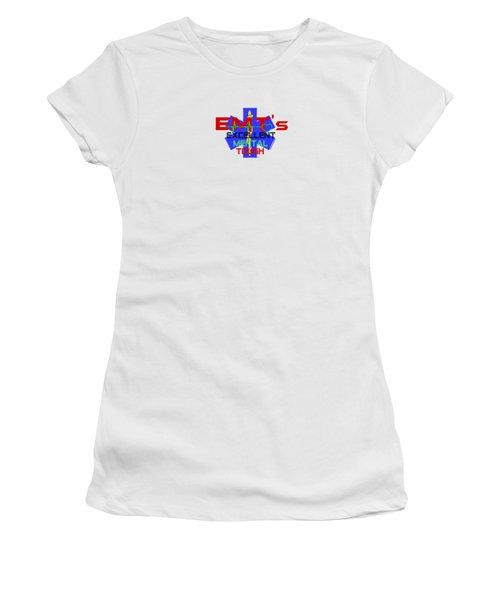 Emt Tough Women's T-Shirt (Athletic Fit)