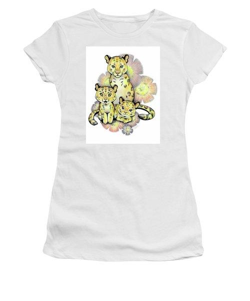 Endangered Animal Amur Leopard Women's T-Shirt (Athletic Fit)