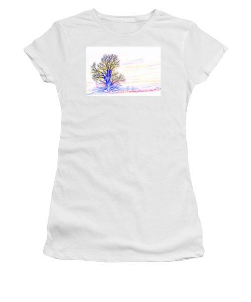 Energy Tree Women's T-Shirt (Athletic Fit)
