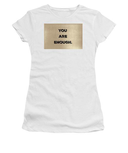 Enough #1 Women's T-Shirt