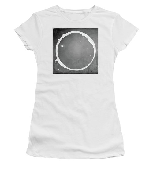 Women's T-Shirt (Junior Cut) featuring the digital art Enso 2017-16 by Julie Niemela
