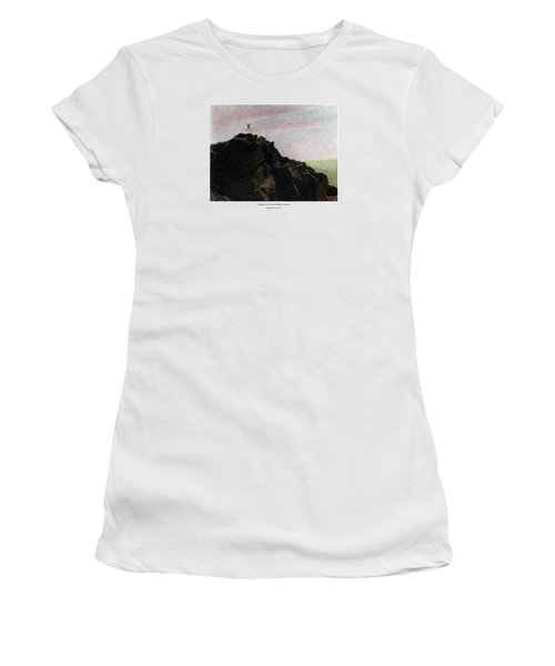 Women's T-Shirt featuring the photograph Enthusiasm Poster by Wayne King