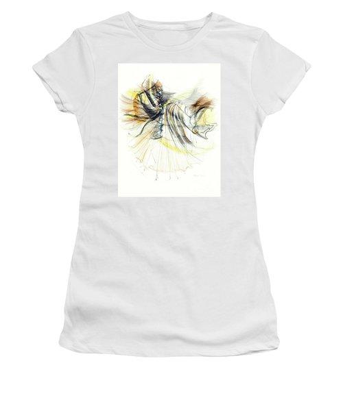 Entranced Women's T-Shirt (Athletic Fit)