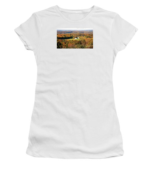 Women's T-Shirt (Junior Cut) featuring the photograph Erin Wisconsin  by Ricky L Jones