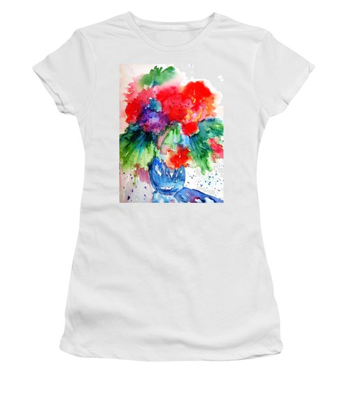 Essence Of Summer Women's T-Shirt (Athletic Fit)