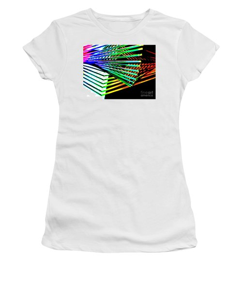 Euclids Geometry Women's T-Shirt (Athletic Fit)