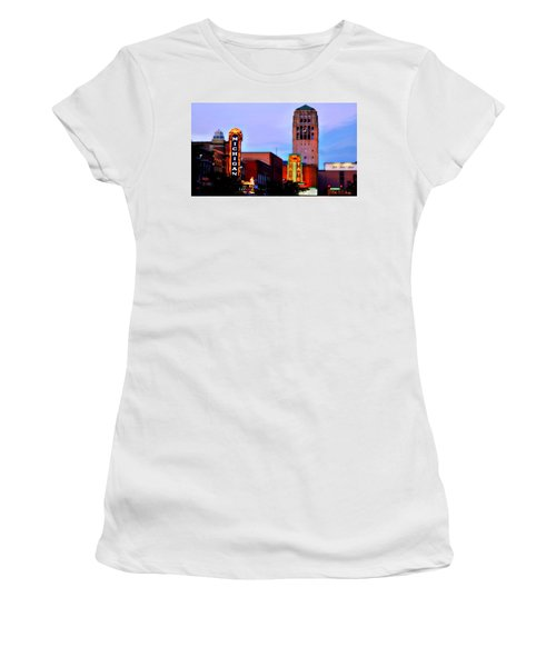 Evening In Ann Arbor Women's T-Shirt
