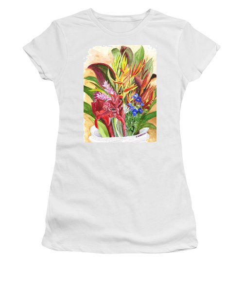 Everywhere There Were Flowers Women's T-Shirt
