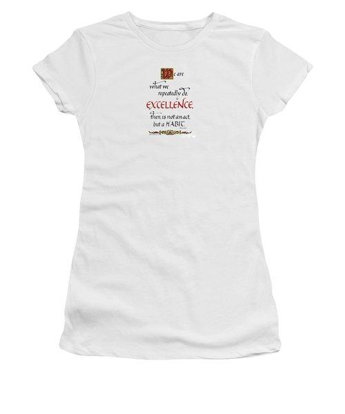 Excellence Women's T-Shirt