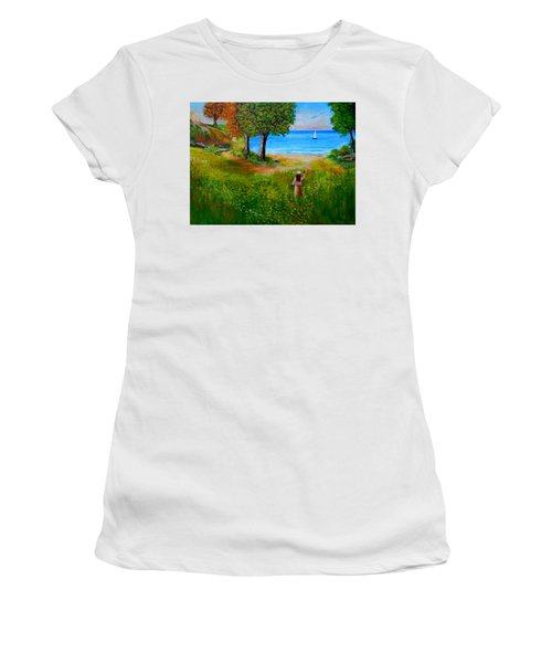 Expectation  Women's T-Shirt (Athletic Fit)