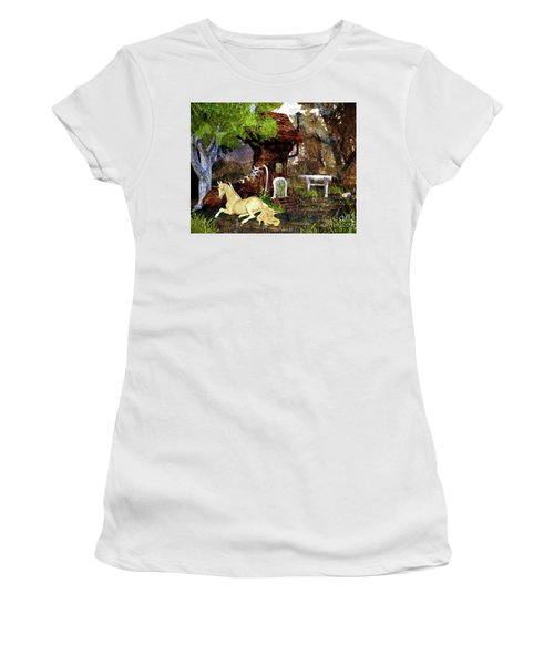 Fairy Retreat Women's T-Shirt (Athletic Fit)