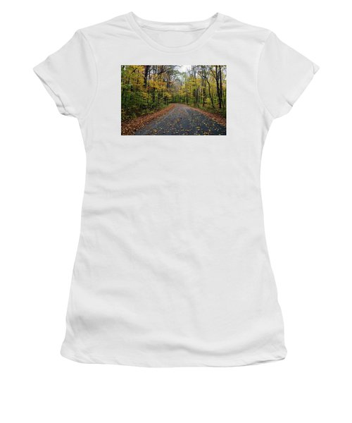 Fall Color Series 2016 Women's T-Shirt (Junior Cut) by Joanne Coyle