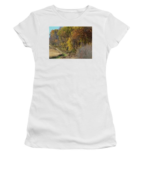 Fall Colors As Oil Women's T-Shirt
