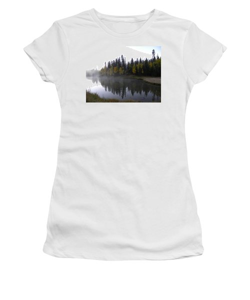 Kiddie Pond Fall Colors Divide Co Women's T-Shirt