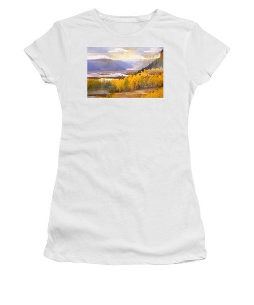 Fall In The Rockies Women's T-Shirt