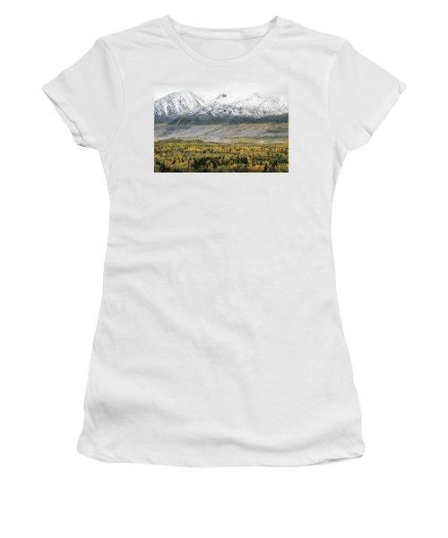 Fall In Wrangell - St. Elias Women's T-Shirt