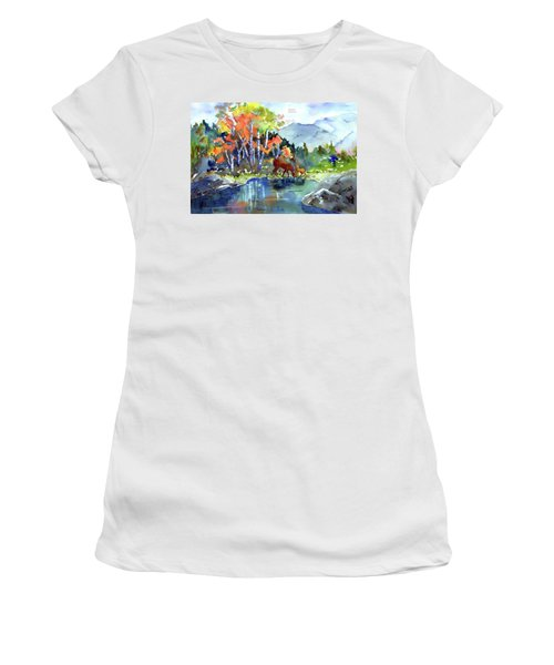 Fall, Upon Us Women's T-Shirt