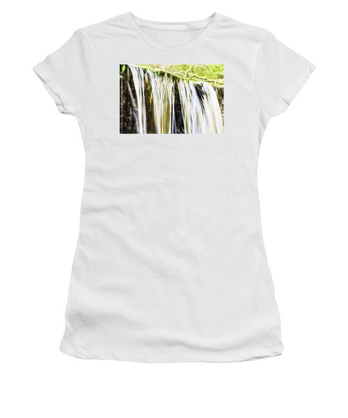 Falling Water Mirror Women's T-Shirt (Athletic Fit)