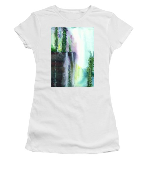 Falling Waters 1 Women's T-Shirt