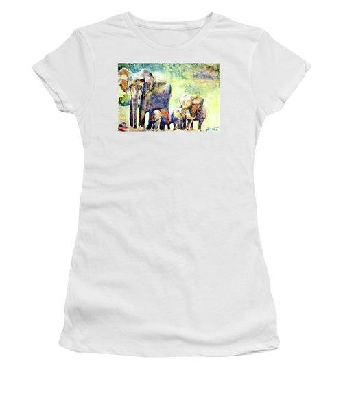Familial Bonds Women's T-Shirt (Athletic Fit)