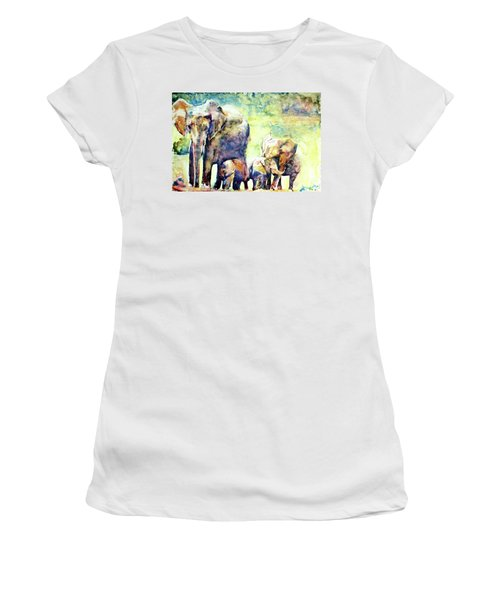 Familial Bonds Women's T-Shirt (Athletic Fit)